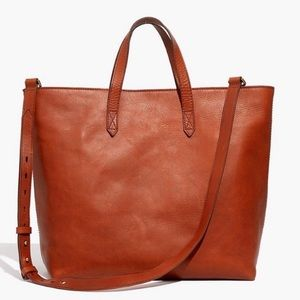 Madewell Zip-Top Carryall Crossbody Large Tote